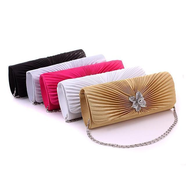 2017 New European Fashion evening bags,sexy Beauty women dbag,little Butterfly Diamond shoulder bags,women clutch free shipping