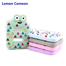 Lemon Comeon Silicone Letter Beads B Baby Teether Accessories Teething BPA Free Teethers For Teeth Gifts 1PC
