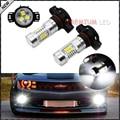 2 unids de Alta Potencia blanco 2835-SMD 5202 H16 PSX24W LED Bombillas Para Luces de Niebla o de Luces de Circulación Diurna
