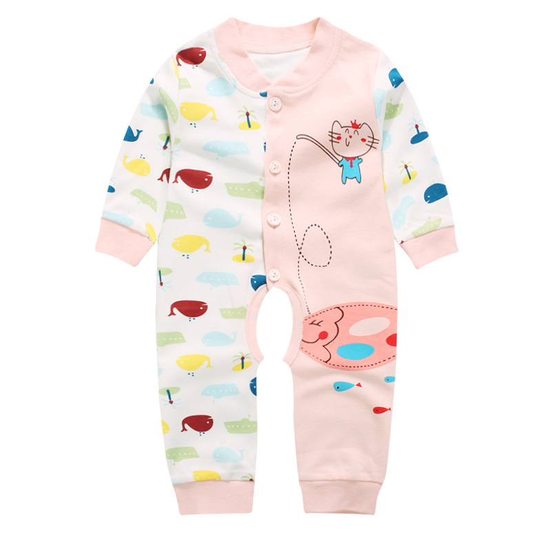 Baby Boy Rompers Autumn Baby Girl Clothing Sets long Sleeve Newborn Baby Clothes Roupa Bebes Infant Jumpsuit Baby Boys Clothes 2017 lovely newborn baby rompers infant bebes boys girls short sleeve printed baby clothes hooded jumpsuit costume outfit 0 18m