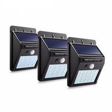 Светодиодная лампа на солнечной батарее уличный беспроводной