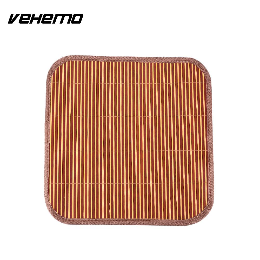 Vehemo Bamboo Car Auto Front/Back Seat Chair 40cm Width Cover Cushion Mat Summer
