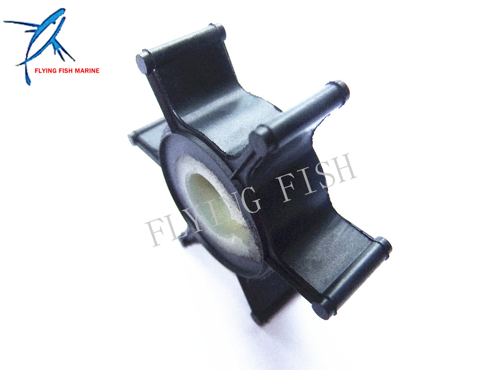 Water Pump Impeller for Yamaha 2HP 2A 2B 2C 2-Stroke Outboard Motors 646-44352-01 646-44352-01-00