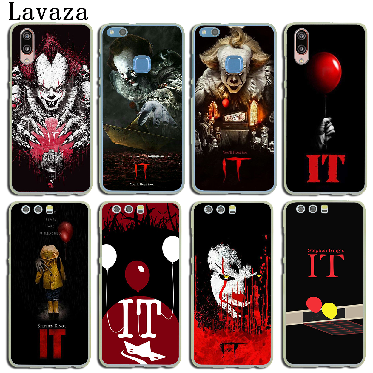 Lavaza Stephen Kings It Phone Cover Case for Huawei P20 P10 P9 Plus P8 Lite Mini 2015 2016 2017 P smart Mate 9 10 Lite Pro