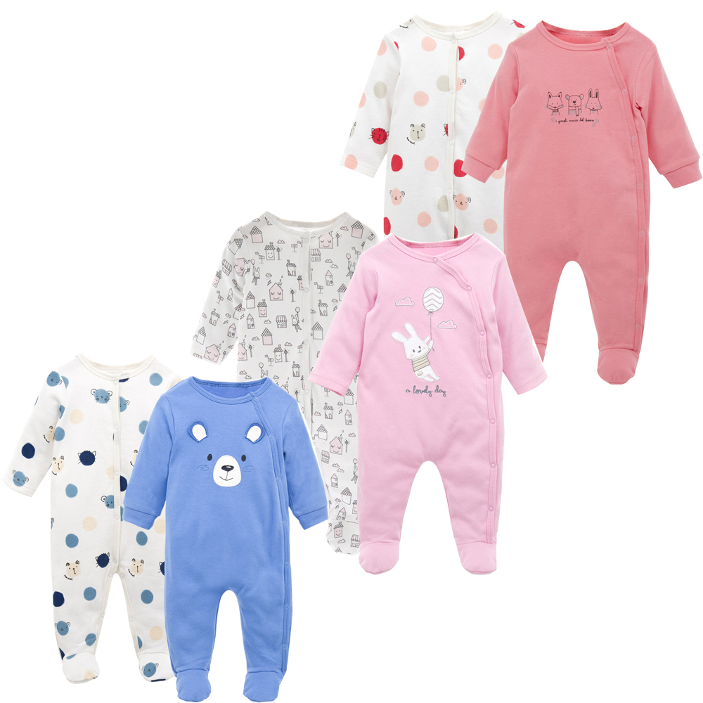 KAVKAS Baby Rompers Cotton Baby Boy Clothes Spring Baby Girl Clothes ...