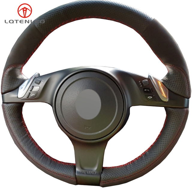 Aliexpress.com : Buy LQTENLEO Black Leather Suede Steering