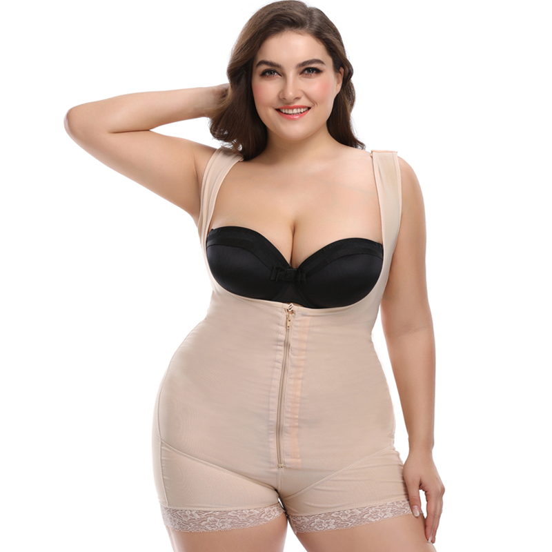 Bodyshaper   Bustier     Corset   Plus Size Bodysuit Body Shaping Underwear Waist Shaper Slim   Corset   Tummy Shaper Butt Lifter Shapewear