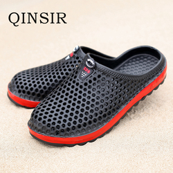 Garden Clog Shoes For Men Quick Drying Summer Beach Slipper Flat Breathable Outdoor Sandals Male Gardening shoe Soft EVA Shoes