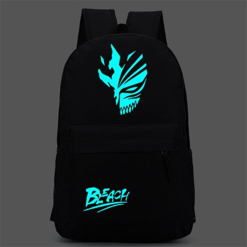 Bleach Ichigo Kurosaki Shoulders font b Bag b font Backpack font b School b font font