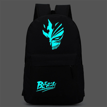 Bleach Ichigo Kurosaki Shoulders Bag Backpack School Bag for Boys and Girls Free Shipping