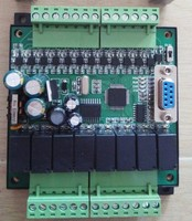PLC Industrial Control Board FX1N 20MRMT Download Online Monitoringtext Hold During Power Off 20MT Transistor Output