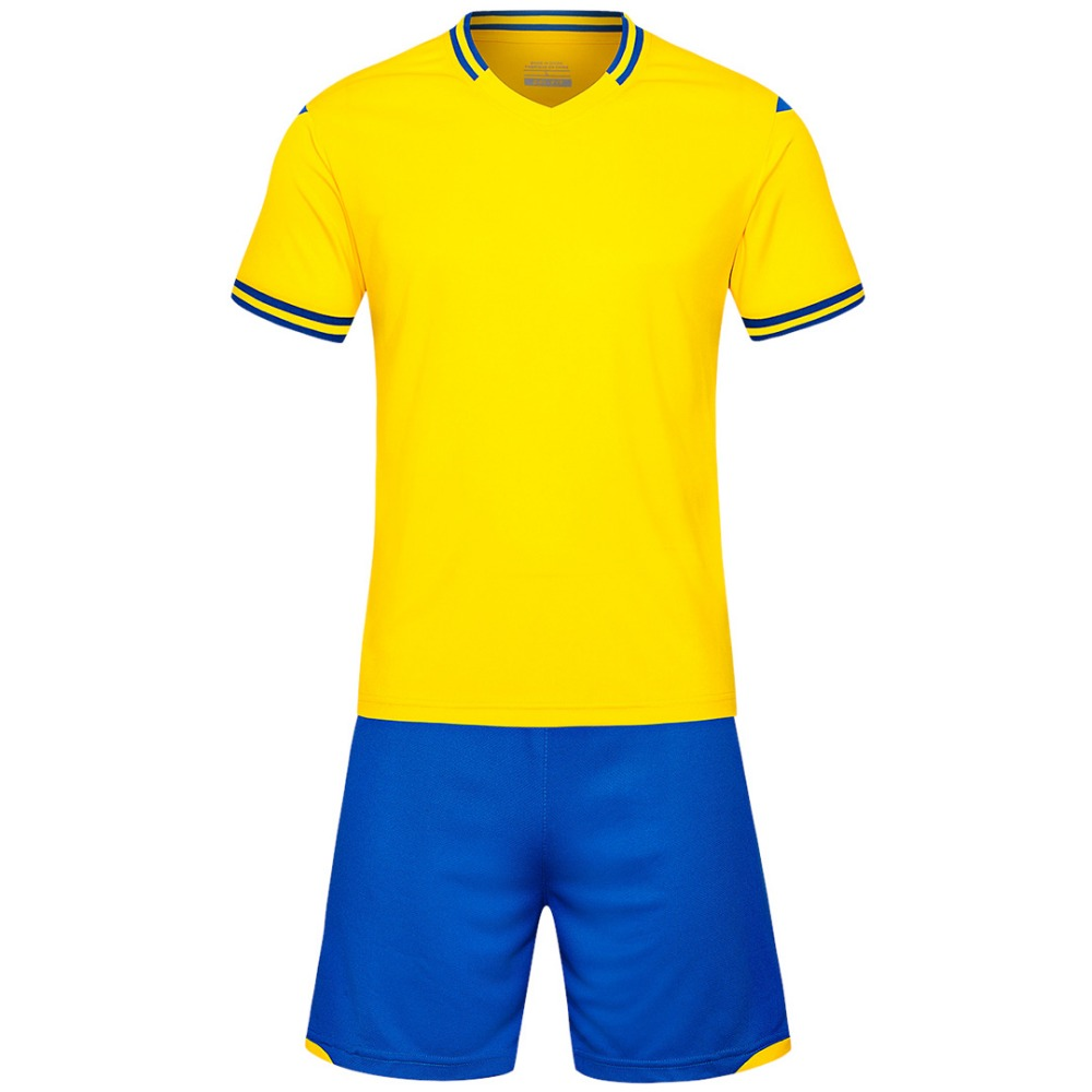 Detail Feedback Questions about yellow Men short sleeve 2018 color size  tracking Purple kits jersey adult soccer football suit Football Jersey on  ... 332e0870b