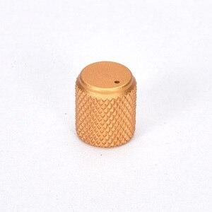 Image 5 - 5 шт. Диаметр: 12 мм высота: 15 мм алюминиевая вращаемая Кнопка потенциометра громкости черный/серебристый/красный/золотой