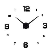 Hot Sale New Wall Clock Clocks Watch Stickers Diy 3d Acrylic Mirror Home Decoration Quartz Balcony