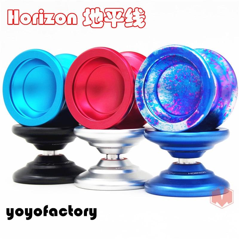 yoyofactory Horizon YOYO Metal YOYO for professional yoyo yoyo professional toy YYF качалка yoyo rock пони с колесами плюшевый музыкальный коричневый gs1010w