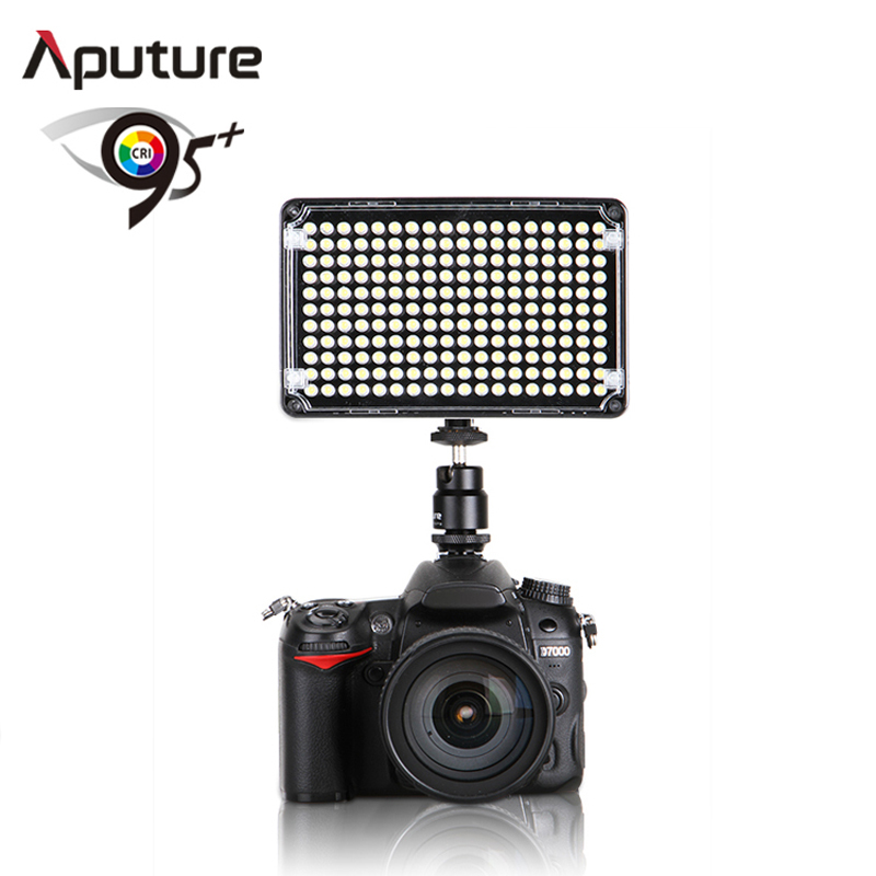 ФОТО Aputure Amaran CRI 95+ AL-H198C LED Video Light 5500/3200K for Canon Nikon DSLR video light studio lighting photography lighting