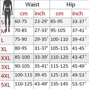 Image 5 - 女性サウナパンツネオプレンレギンス制御パンティーフィットネスウエストトレーナーボディシェイパー痩身スーパーストレッチカプリパンツズボンパンツ