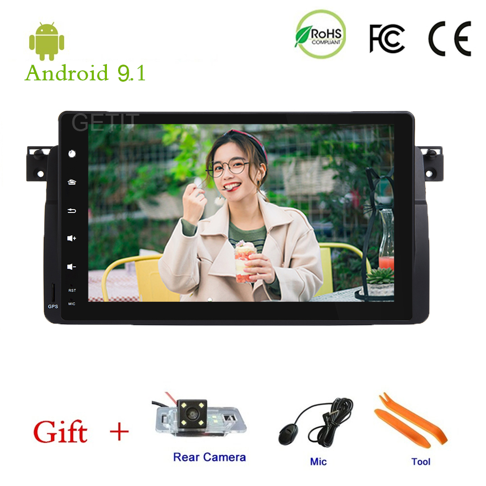 9 inch Android 9 1 Car Head Unit for BMW E46 M3 with Radio BT Wifi