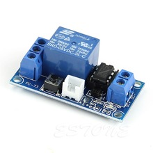цена на 2018 NEW 1 Channel 5V Latching Relay Module with Touch Bistable Switch MCU Control