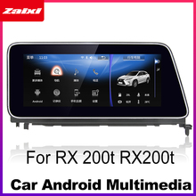 Android 7.0 up Car Multimedia player For Lexus RX 200t RX200t 2015~2018 WiFi GPS Navi Map Stereo Bluetooth 1080p IPS Screen yessun for lexus al20 rx 300 rx 200t rx 450h 2015 2018 car android carplay gps navi maps navigation player radio stereo no dvd