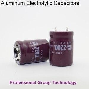9 stücke RF2 Gute qualität 63v2200uf Radial DIP Aluminium-elektrolyt-Kondensatoren 63v 2200uf Toleranz 20% größe 22x30MM 20%