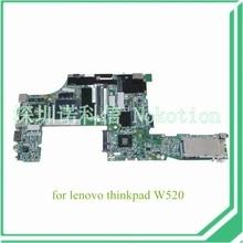 Lenovo ThinkPad W520 FRU 04W2028 N12P-Q1-A1 48.4KE36.021 04W2030 Q1 Quadro 1000 M Madre Del Ordenador Portátil DDR3 QM67