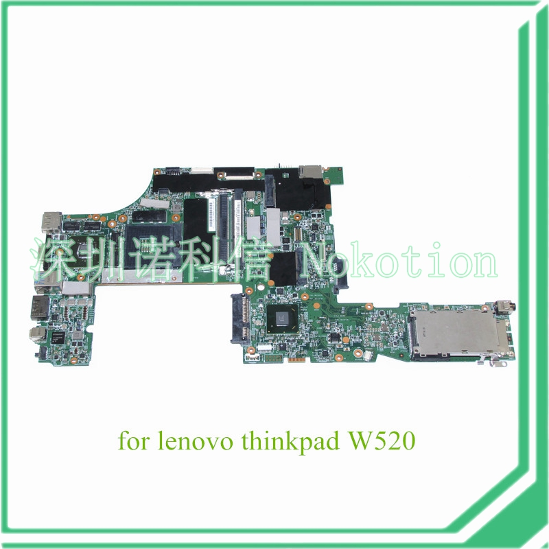 NOKOTION FRU 04W2028 for Lenovo ThinkPad W520 N12P-Q1-A1 48.4KE36.021 04W2030 Q1 Quadro 1000M Laptop Motherboard QM67 DDR3 7xinbox 15 2v 50wh laptop battery for lenovo asm p n sb10f46441 fru p n oohw003 4icp5 58 73 2