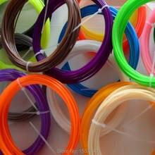 SENHAI3D 20 Colors 10M 3D Filament PLA 1 75mm For 3D Printer 3D pen Wholesale price