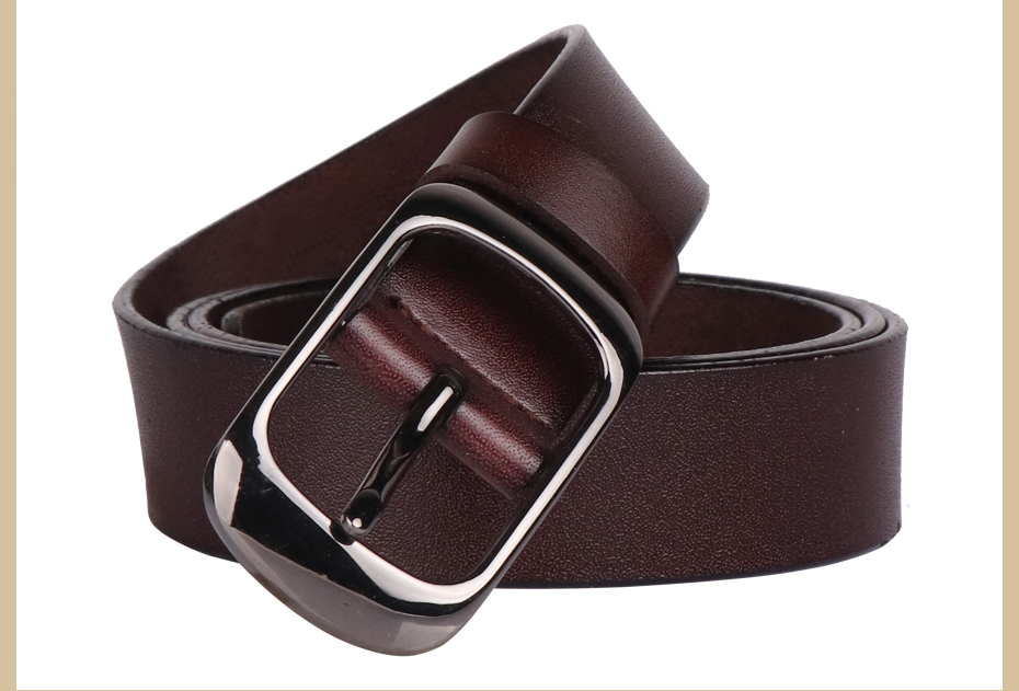 Women's strap casual all-match genuine leather jeans belt WH001