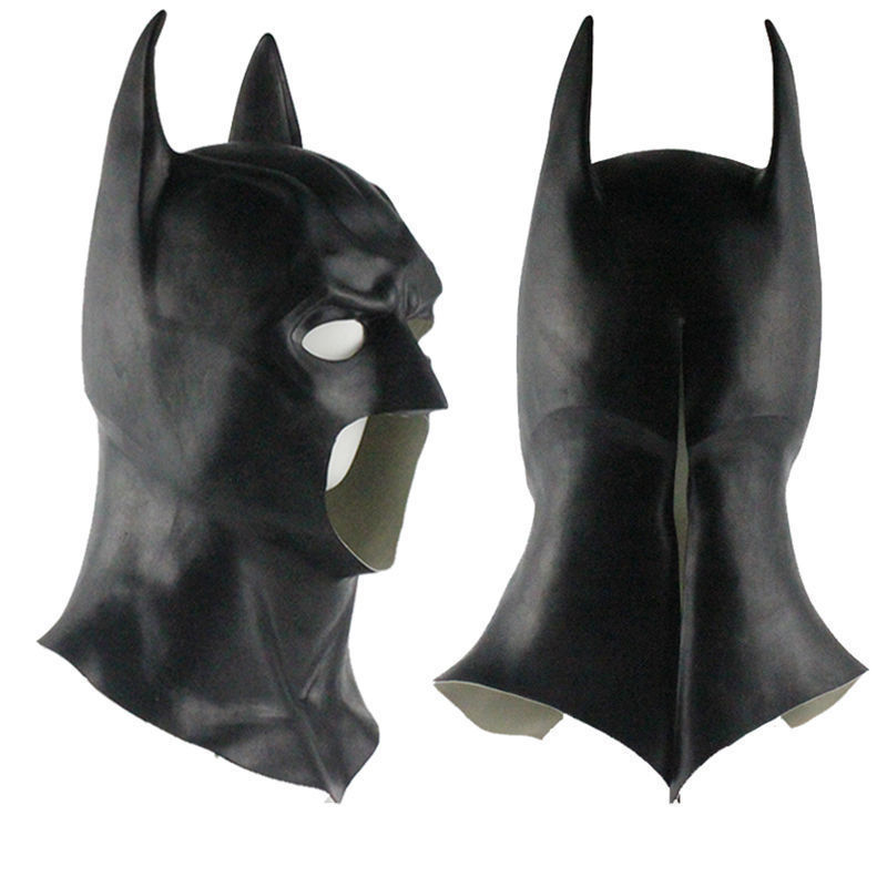 Batman Masks Full Head Batman Vs Superman Mask Dark Knight Latex Mask Cosplay Batman Mask Halloween Partyparty party partyparty batmanparty halloween -