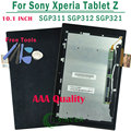 100% Test Good Full LCD Display With Touch Screen Digitizer For Sony For Xperia Tablet Z 10.1 SGP311 SGP312 SGP321 Free Shipping