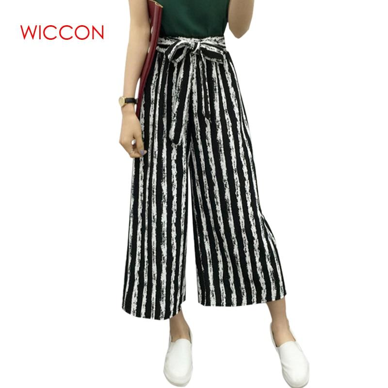 WICCON Moda de Verano Venta Caliente de Señoras Pantalones de - Ropa de mujer