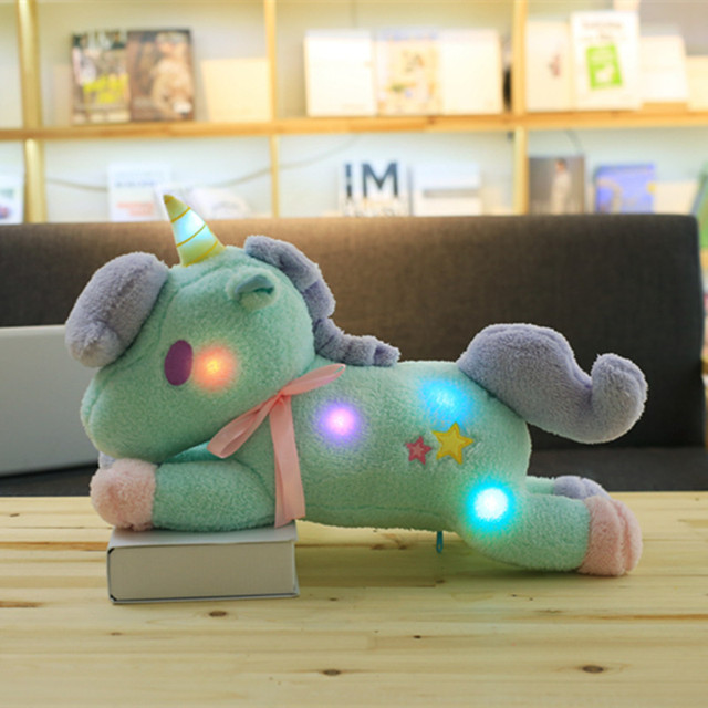 55CM COLORFUL UNICORN PLUSH (2 VARIAN)