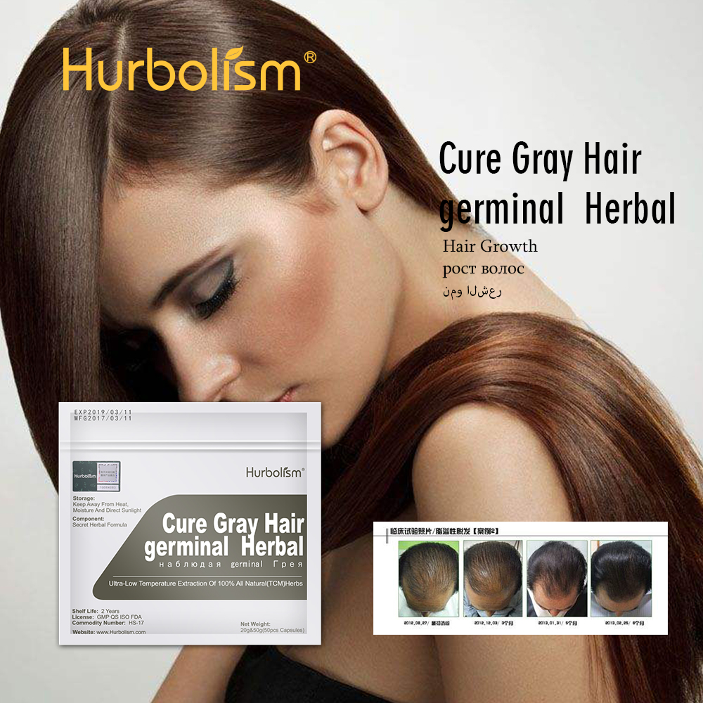 Hair Regrowing Formula Made From TCM Natural Herbs, Firm Hair Root, Nourishing Hair Quality, Cure Hair Loss, Germinal 50pcs