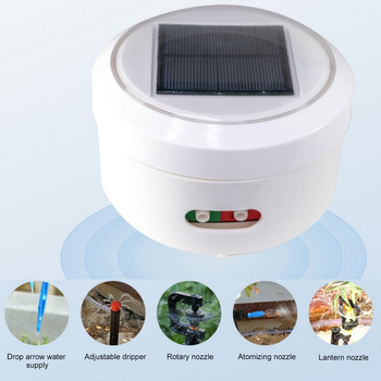 USB/Solar Energy Charging Watering Kit Intelligent Garden Automatic Watering Device Drip Irrigation Tool Water Pump Timer System
