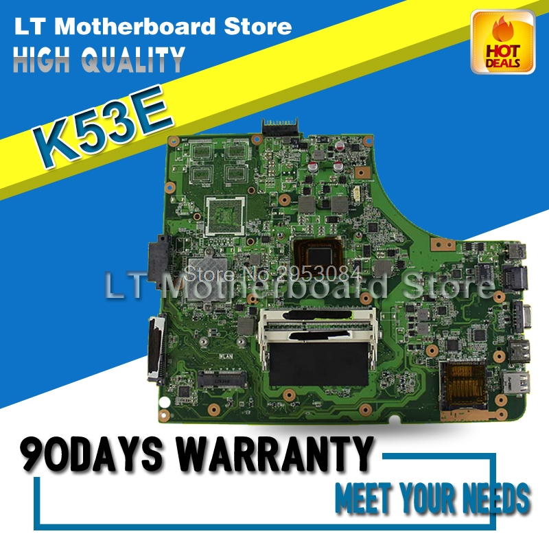 Laptop Motherboard For ASUS K53E Onboard I3 K53SD 6.0 System Board Main Board Mainboard Card Logic Board Tested Well S-4 d05021b maine board fittings of a machine tested well original