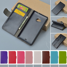 For Microsoft Nokia Lumia 535 Dual SIM RM-1090 RM-1089 Fashion Flip PU Leather Case Cover Book style J&R Brand phone cases