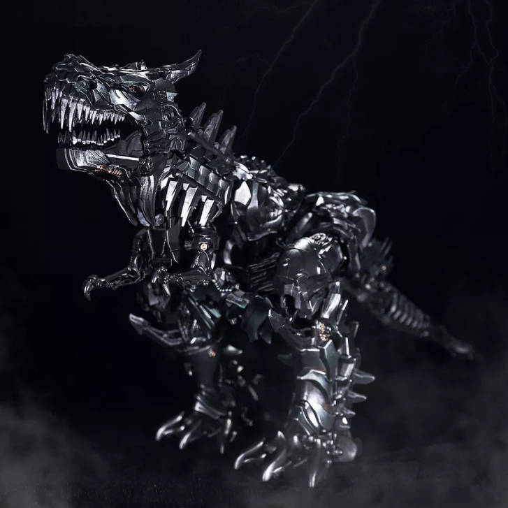 все цены на Black MamBa LS05 Transformation Ancient leader Grimlock Oversized SS07 Diecast Action Figure Collection Kids Gift онлайн