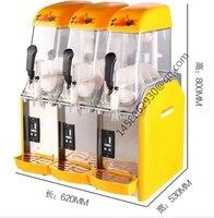 China drei tank Sonder beliebtesten Margarita matsch eingefroren getränkeautomaten margarita maschine slush puppy maschine