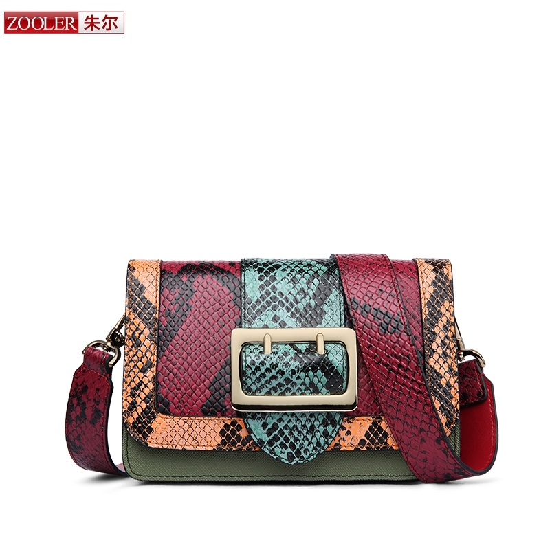 ФОТО 2017 New&hot ZOOLER genuine leather bag patchwork women messenger bag luxury woman bag fashion stylish bag bolsa feminina #2956