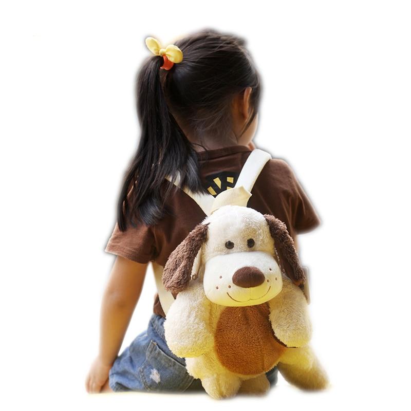 Mochilas Felpa Kids 만화 배낭 Sac A Dos Peluche Enfant 귀여운 동물 플러시 배낭 어린이 학교 음식 가방을위한 장난감 배낭