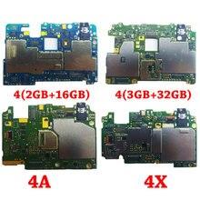 Ymitn мобильный электронная панель плата Материнская плата разблокированная с чипами цепей flex кабель для Xiaomi RedMi Hongmi 4 4A 4X