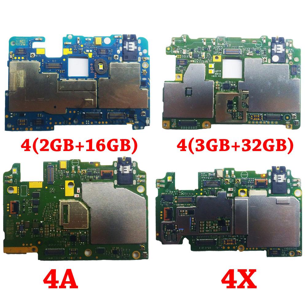 Ymitn Mobile panneau Électronique carte mère Carte Mère débloquée avec puces Circuits flex Câble Pour Xiaomi RedMi hongmi 4 4A 4X