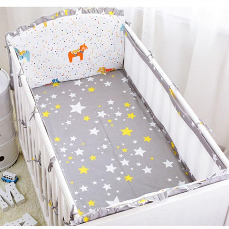 Baby Bed  Breathable Infant Kids Nursery Bedding Set Safely