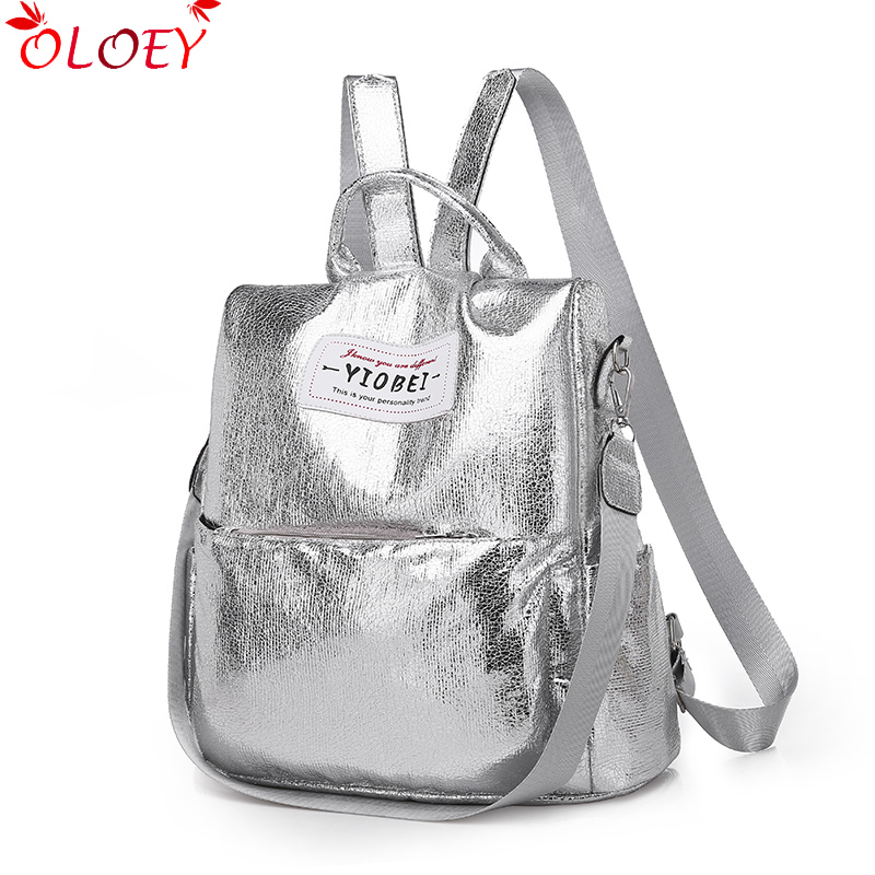 Bags For Women Backpack  2019 Summer New Multi-function Bag  Fashion Wild Anti-theft Waterproof Soft Leather Leisure Backpack