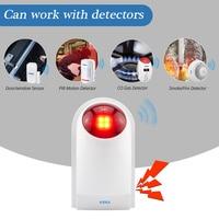 Wireless Flashing Alarm Strobe Light