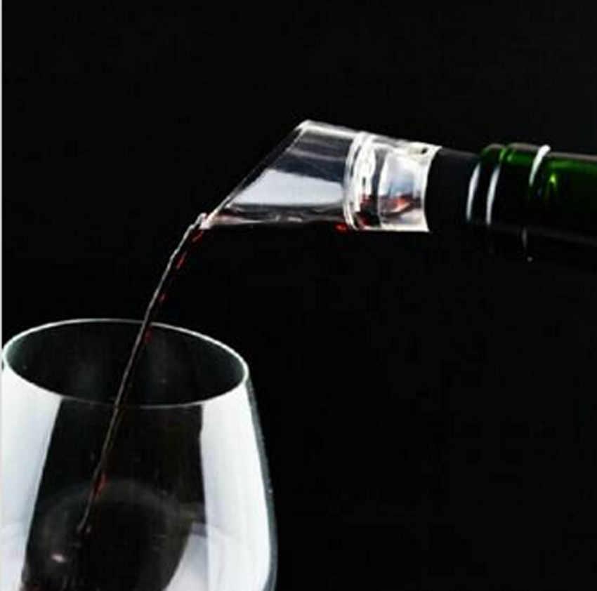 Nhanh Decanter Trắng Red Wine Chai Drop Dừng Top Stopper Bán Phá Giá Kênh Aerator Ngắt Rượu S