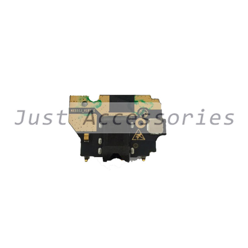 used Nubia M2 NX551J Original Mobile Phone Flash light Flex Cable FPC & Sensor & Headphone Jack