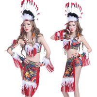 Dance Costume folk style DS singer evening party dance photography portrait costumes new fashion sexy Female dancer show clothes