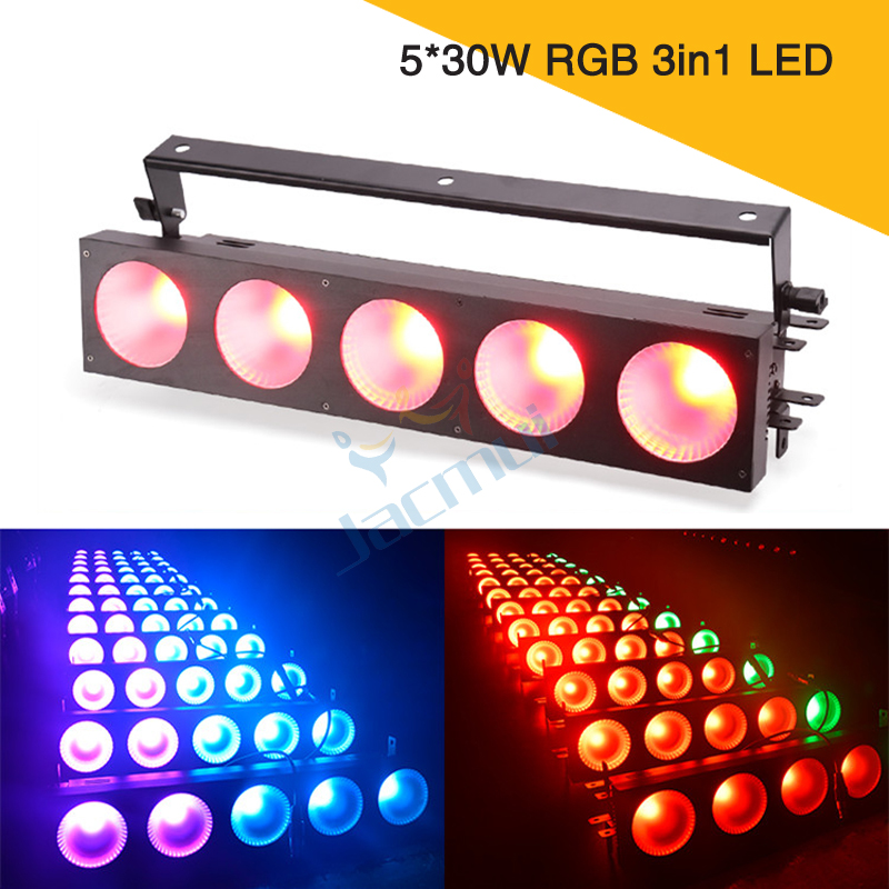 5*30W RGB 3in1 LED Matrix Wash Disco Stage Light For Stage Event Bar